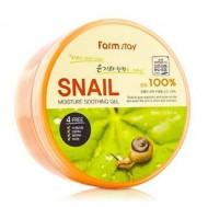 Отзывы Гель смягчающий с экстрактом улитки FARMSTAY Snail moisture soothing gel 300 мл
