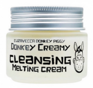 Отзывы Крем для снятия макияжа ELIZAVECCA Donkey creamy cleansing melting cream 100г